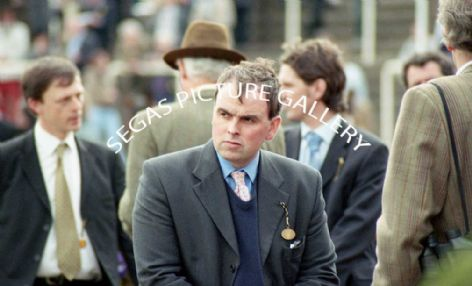 The Trainer Alan King @ Cheltenham on the 14th April 2004